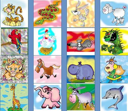 картинки с животными для английского: