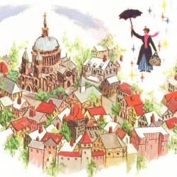 Mary Poppins на английском