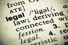 Юридический английский язык - правила изучения.