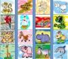 Детская игра для изучения простых слов на английском языке