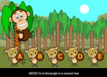 Детская песня для изучения английского алфавита